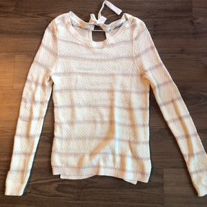 LAUREN CONRAD STRIPED SWEATER